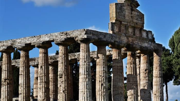 paestum 60mila euro per restaurare il tempio di athena