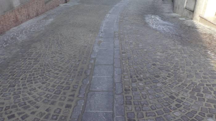 ariano pavimentazione in centro siamo allo sprint finale