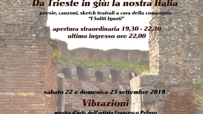 apertura straordinaria del teatro romano