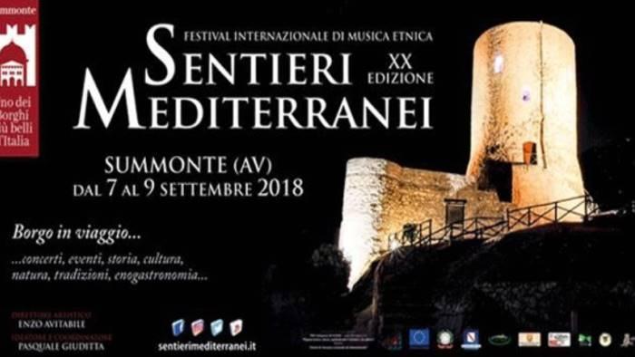 sentieri mediterranei tutto pronto per il grande evento