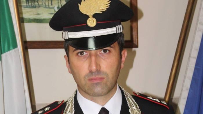 baiano ecco il nuovo comandante della compagnia carabinieri