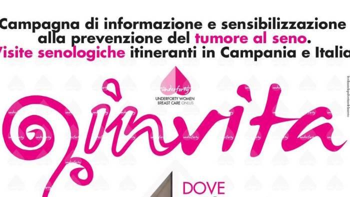 oggi a moiano la giornata di prevenzione contro tumore al seno