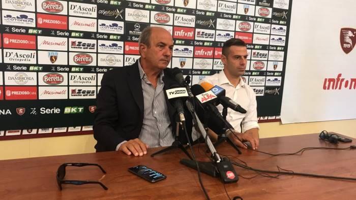 calaio da l addio al calcio il live della conferenza stampa