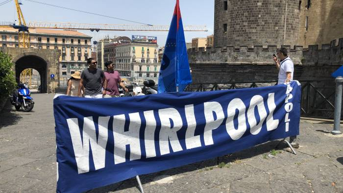 whirlpool i sindacati chiedono il rispetto degli accordi