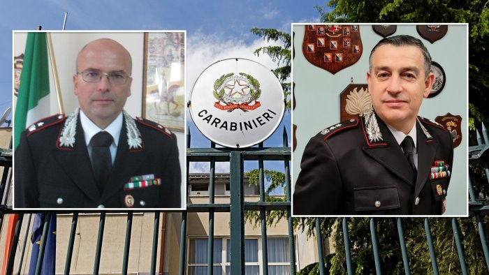carabinieri madaro promosso tenente colonnello falce maggiore