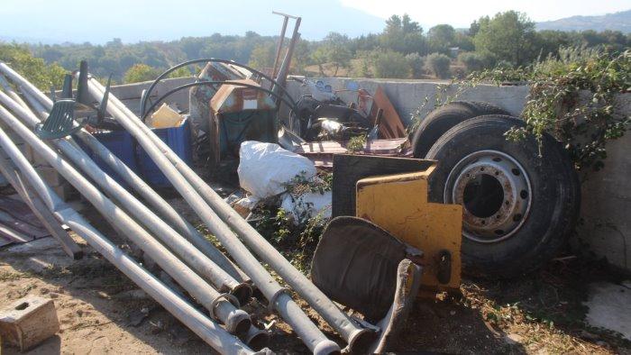 abusi edilizi e violazioni ambientali denunciata imprenditrice