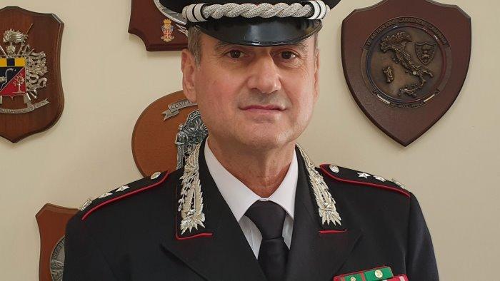 il maggiore claudio rosa promosso tenente colonnello