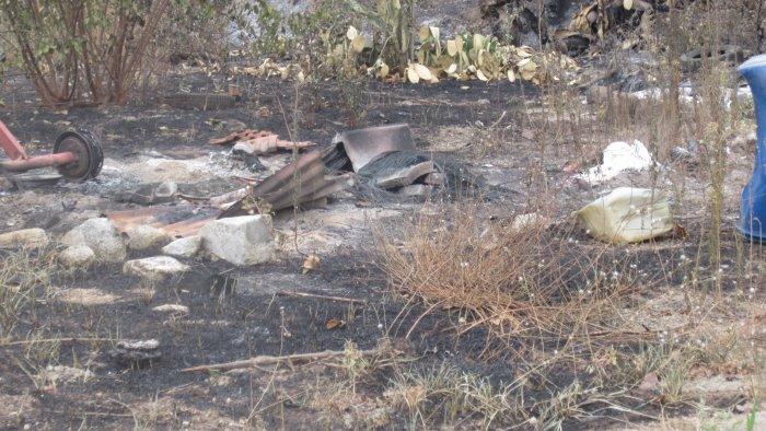 incendi a castel san giorgio scattano le denunce