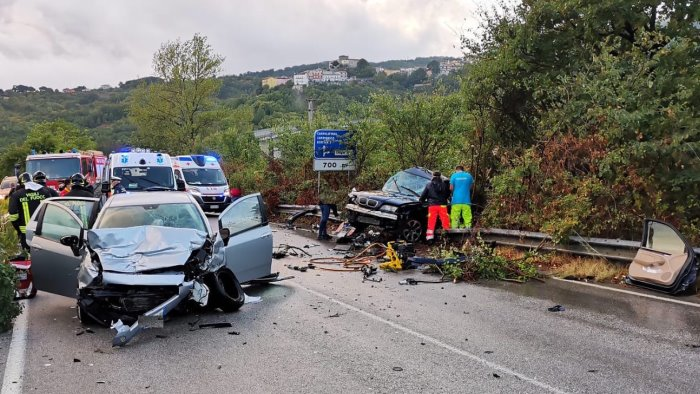 campolattaro gravissimo incidente stradale muore 44enne