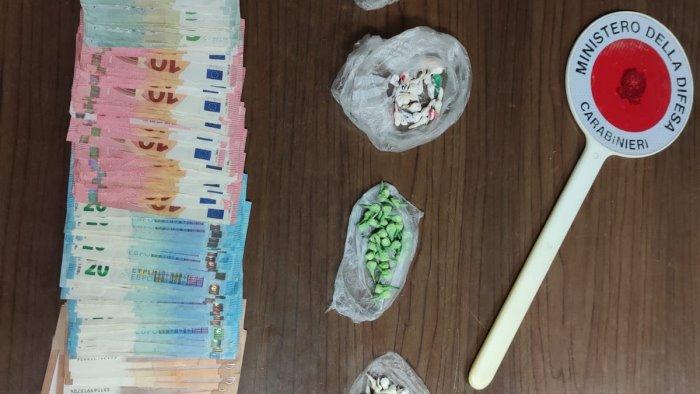 mercato san severino arrestato pusher in trasferta