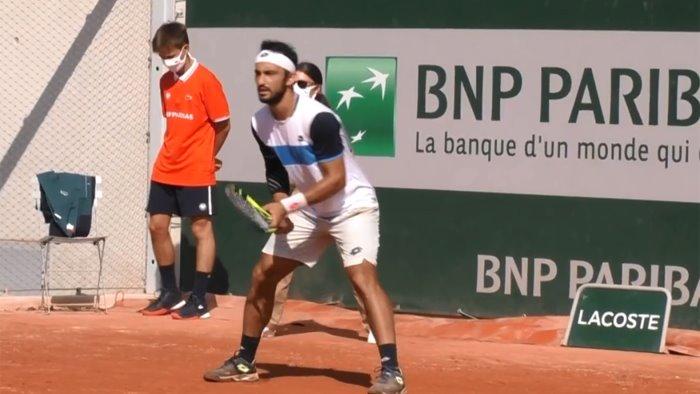 tennis roland garros per giustino esordio contro un francese