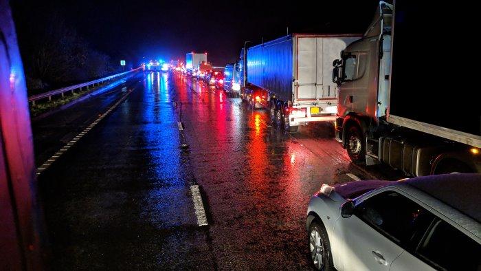 montoro incidente mortale sulla superstrada
