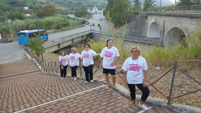 tre giorni di corsa contro il tumore al seno
