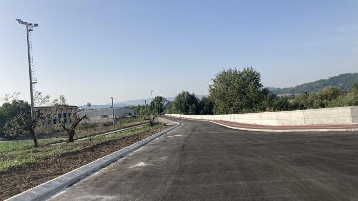 via grimoaldo re ripresi i lavori per il nuovo ingresso alla citta di benevento