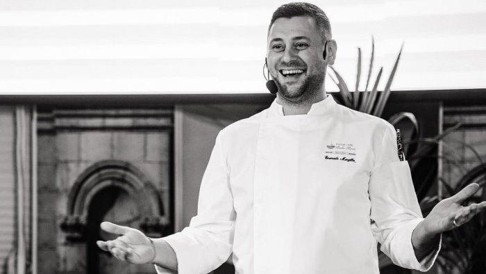 chef sannita premiato da gambero rosso rubano lo celebra al comune
