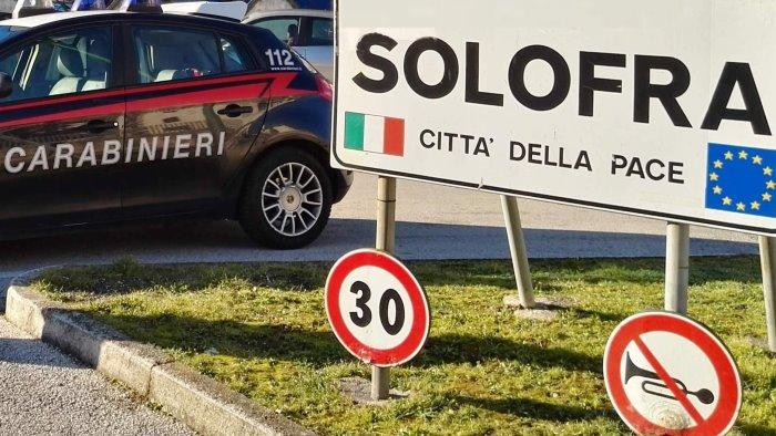 carabinieri in campo quattro truffe sventate a solofra