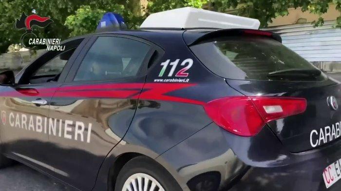 ricercato per rapina e lesioni catturato dai carabinieri a napoli