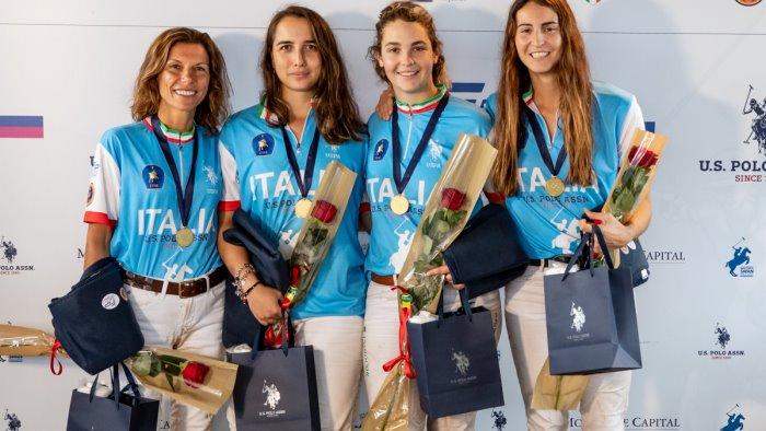 equitazione italia campione negli europei di polo donne