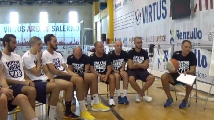 virtus arechi mennella gruppo in crescita merito del coach