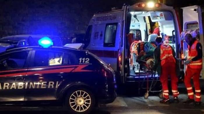 incidente stradale nella notte feriti tre giovani camerieri