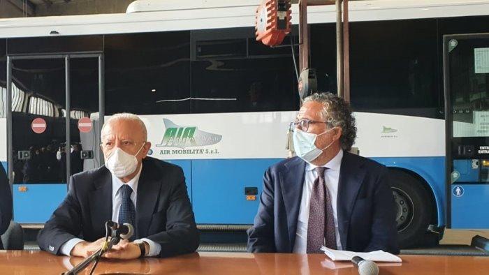 air chiarisce finita l emergenza rientrano i bus da caserta