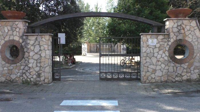 berillio nel suolo chiusa la villa comunale a torrette
